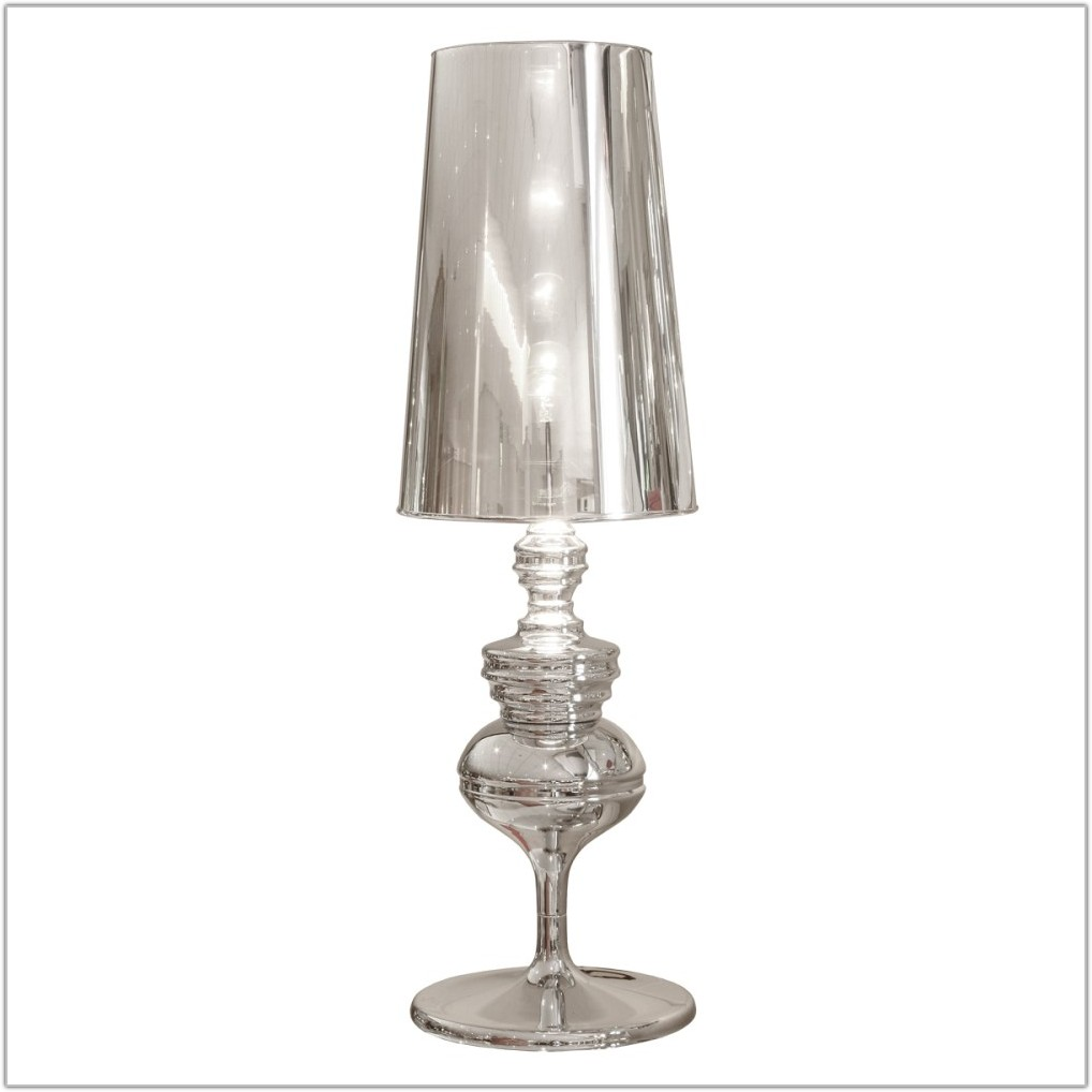 Silver Pineapple Table Lamp Base
