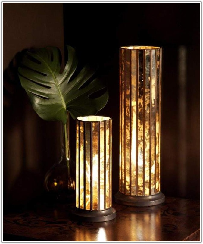 Small Glass Table Lamps Uk