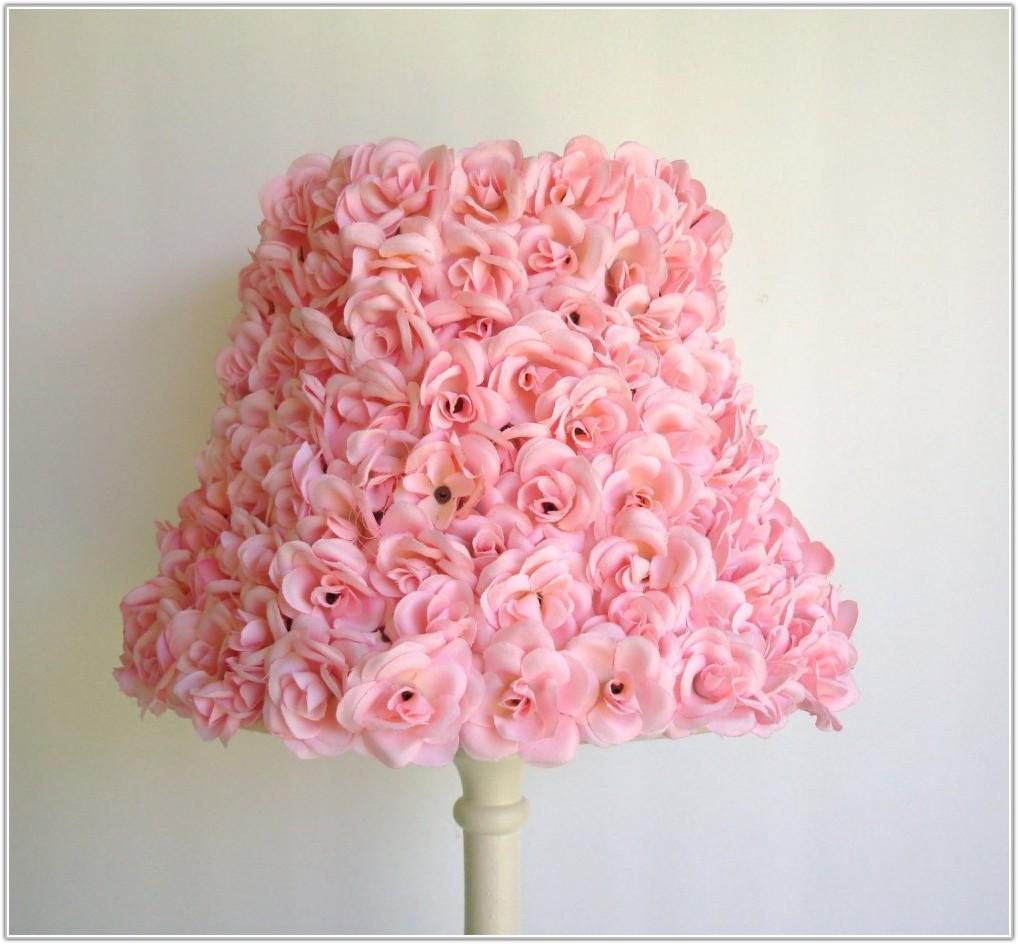 Small Hot Pink Lamp Shades