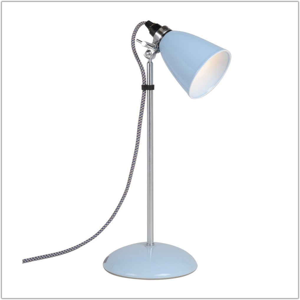 Small Light Blue Table Lamp