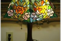 Small Stained Glass Desk Lamps