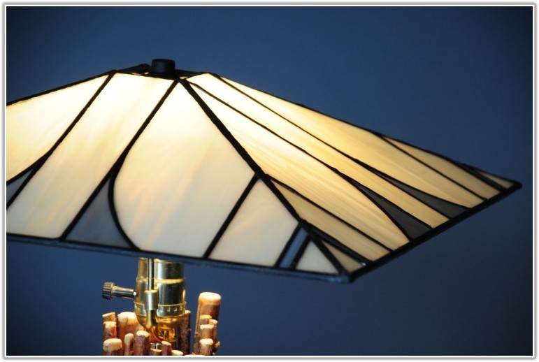 Small Stained Glass Lampshade Patterns