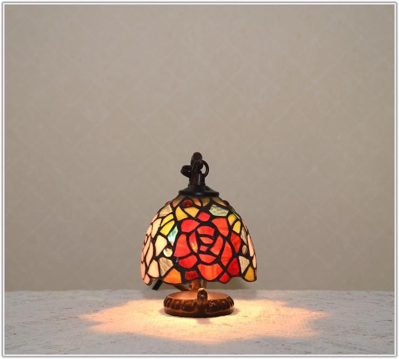 Small Tiffany Style Desk Lamp