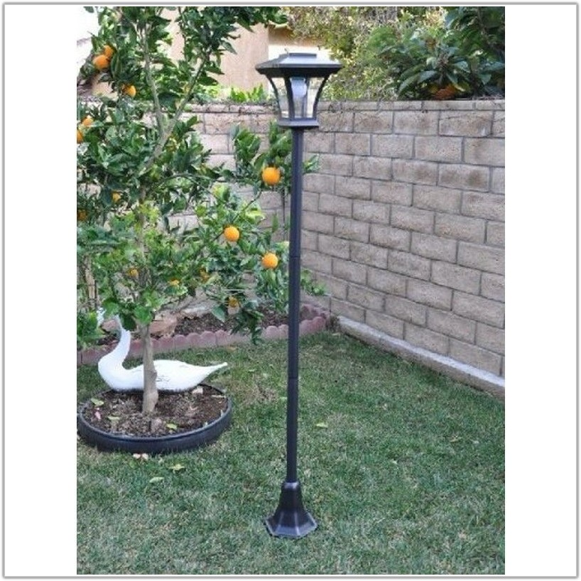Solar Front Yard Lamp Post