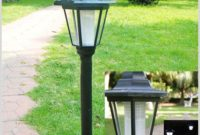 Solar Garden Lamp Post Australia