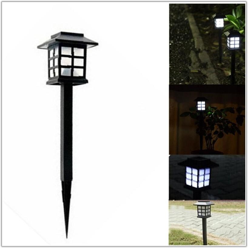 Solar Garden Lamp Post Lights