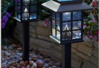 Solar Lamp Post Lights Mission Style