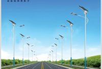 Solar Lamp Post Street Lights