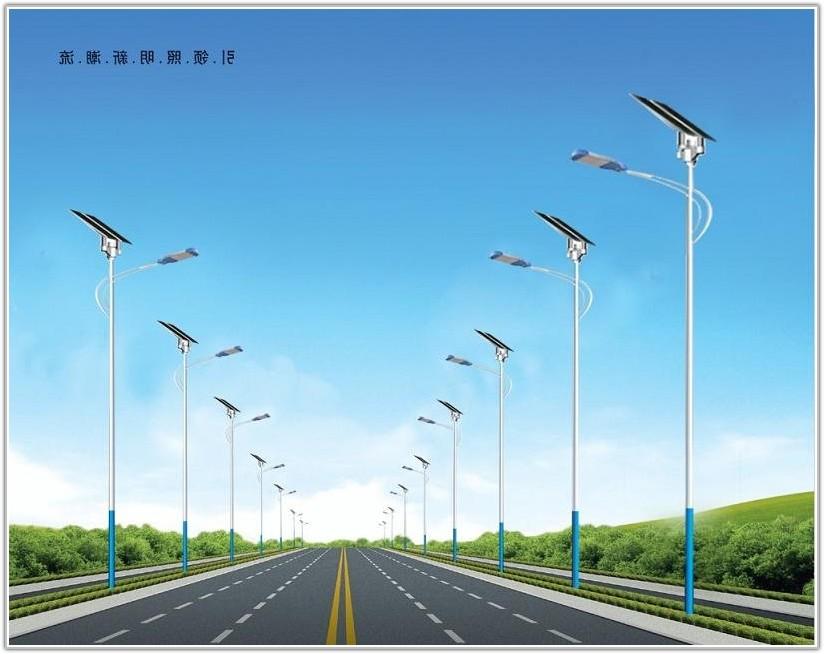 Solar Lamp Post Street Lights