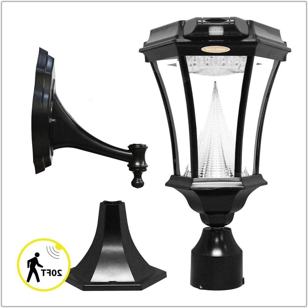 Solar Lamp With Motion Sensor