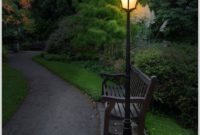 Solar Powered Garden Lamp Posts