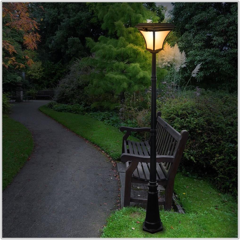 Solar Powered Garden Lamp Posts