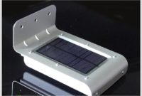 Solar Powered Lamp Outdoor 16 Led