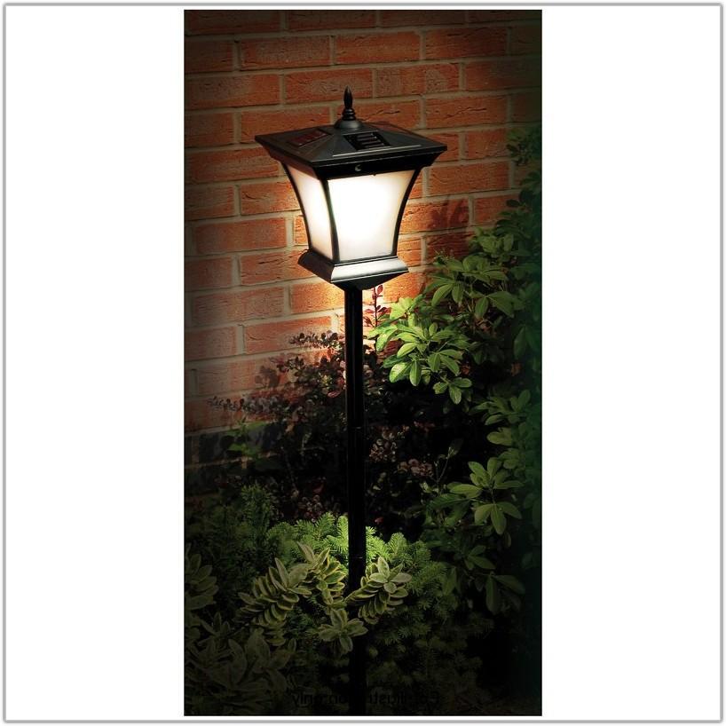 Solar Powered Lamp Post Lights