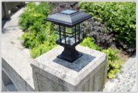 Solar Powered Lights Outdoor Stairs