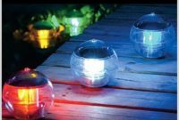 Solar Powered Night Light Indoor