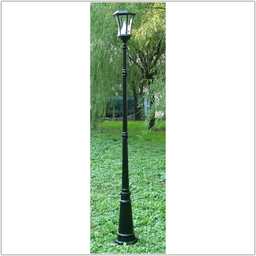 Solar Powered Outdoor Lamp Post Light
