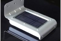 Solar Powered Outdoor Light With Motion Sensor