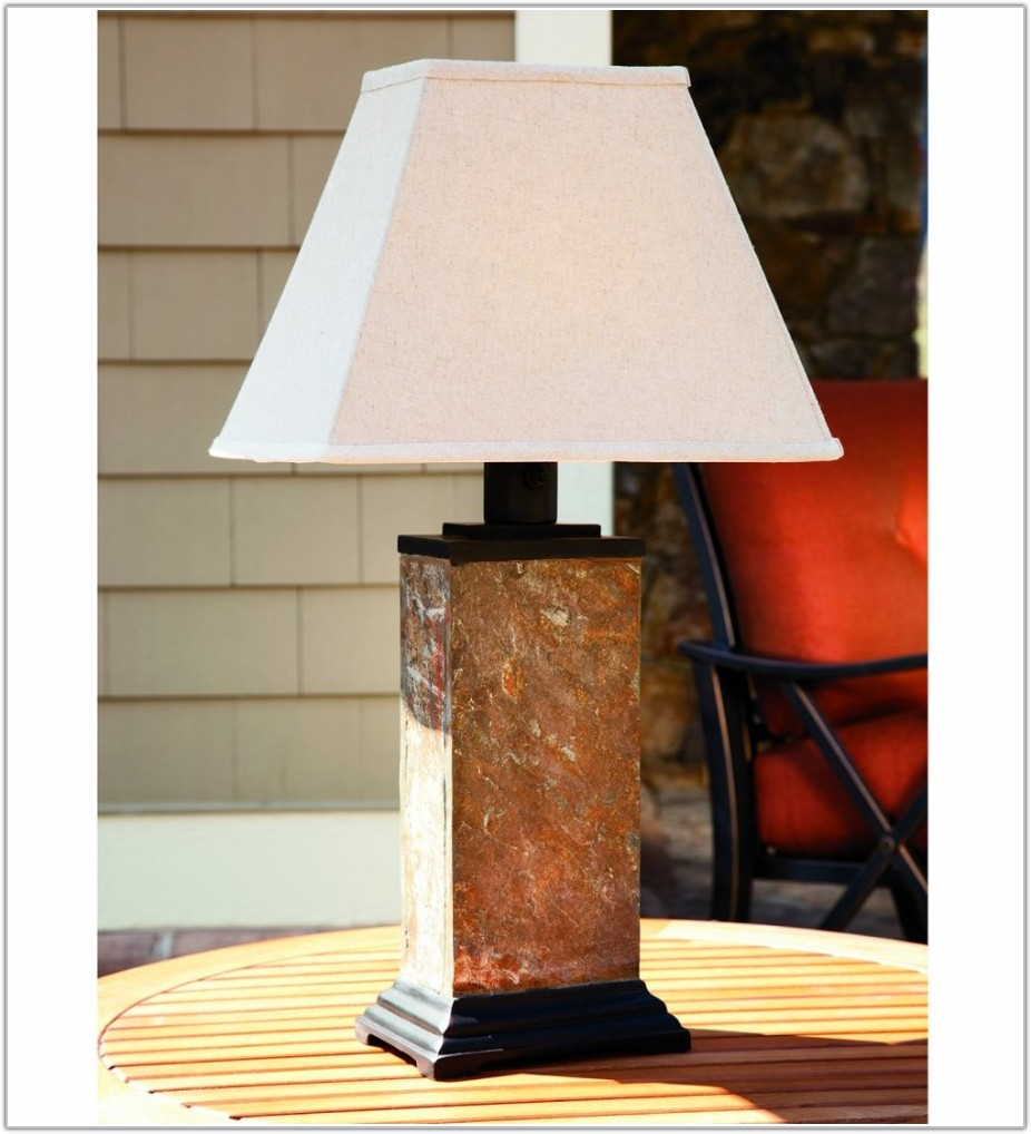 Solar Powered Outdoor Table Lamps