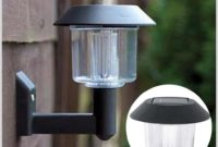 Solar Powered Post Lamp Outdoor