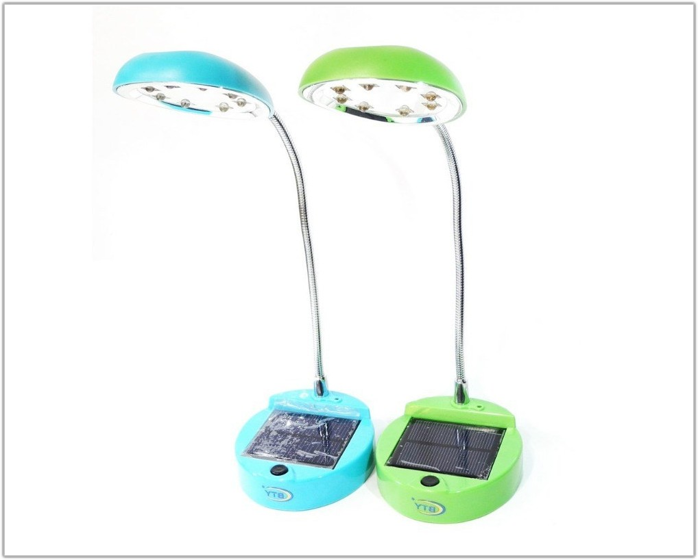Solar Powered Table Top Lamp