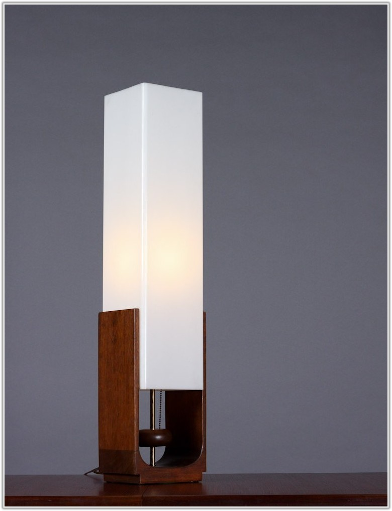 Square Paper Shade Floor Lamp