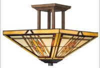 Stained Glass Ceiling Light Covers