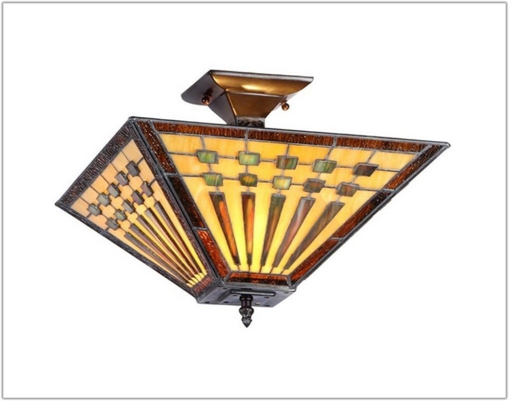 Stained Glass Ceiling Light Shades