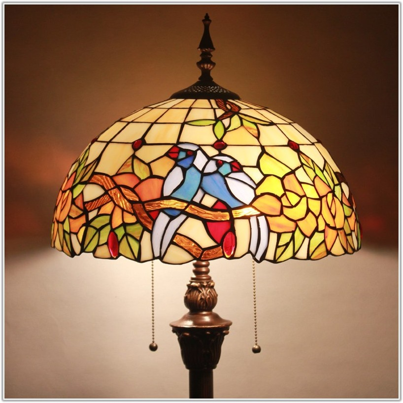 Stained Glass Floor Lamp Shades