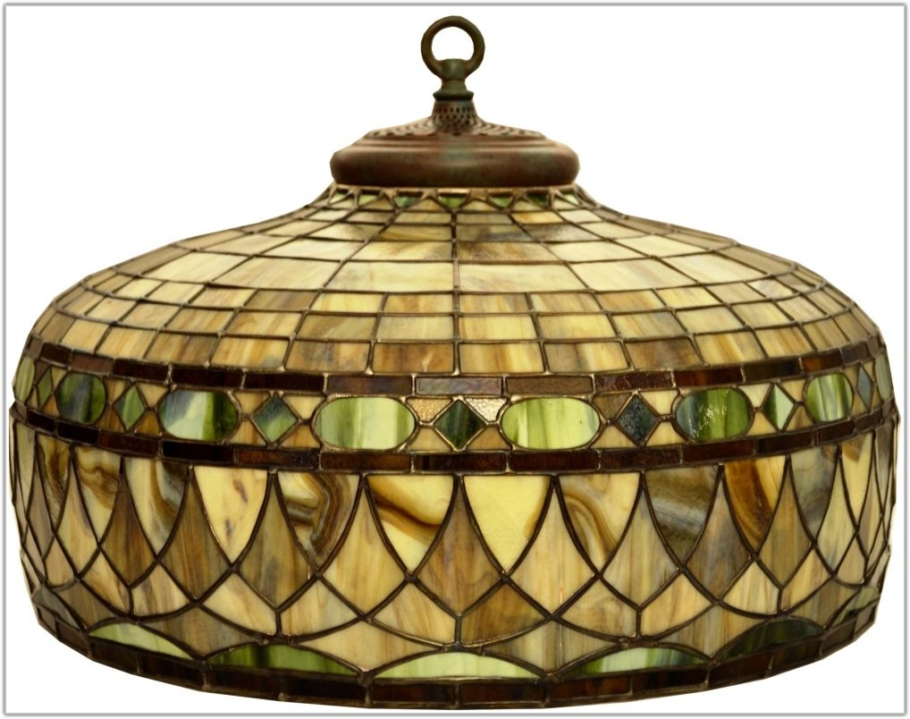 Stained Glass Hanging Lamp Ebay