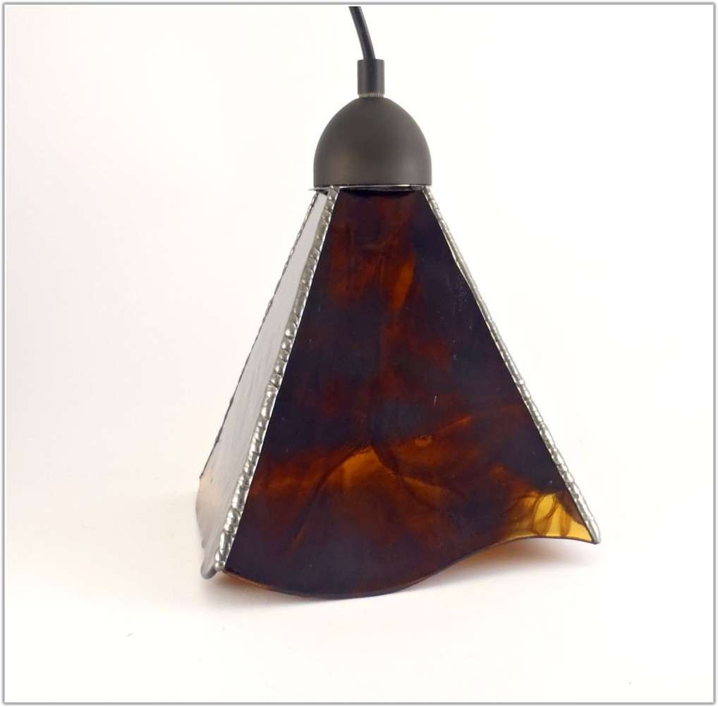 Stained Glass Pendant Lamp Shade Patterns