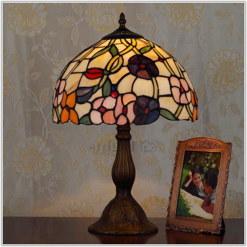 Stained Glass Tiffany Table Lamps