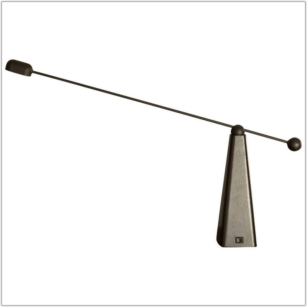 Stainless Steel Halogen Desk Lamp