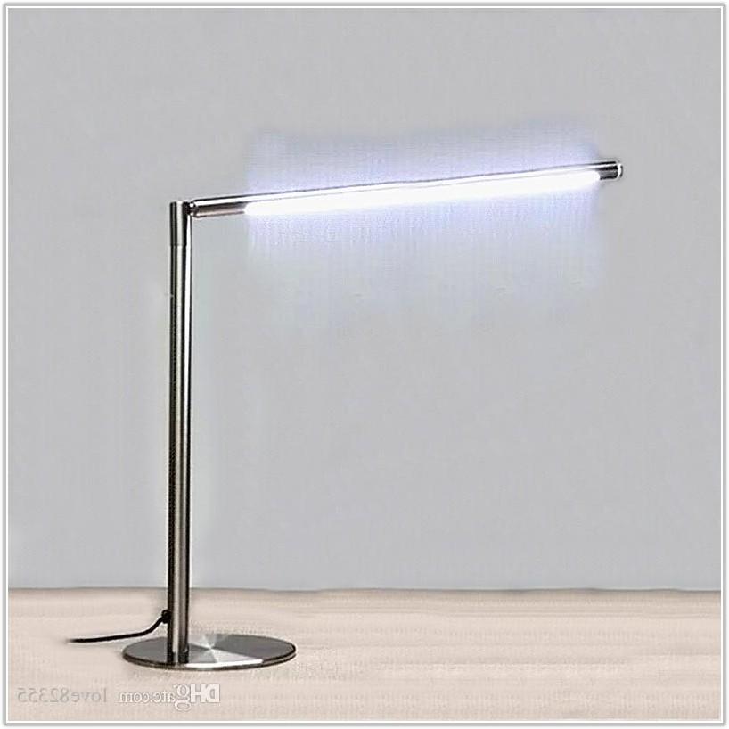 Stainless Steel Led Desk Lamp