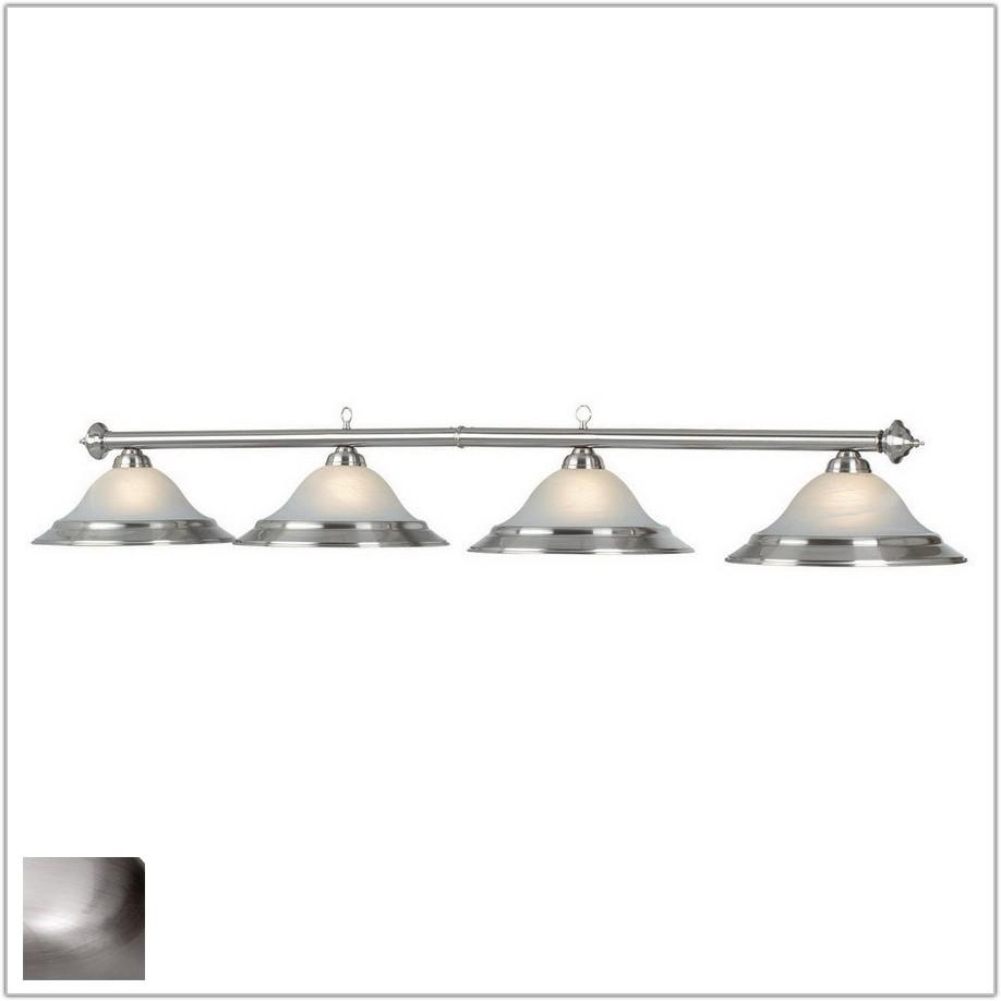 Stainless Steel Pool Table Light