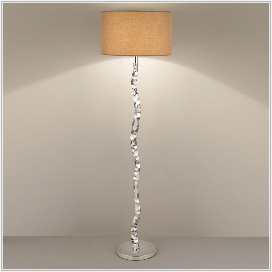 Stand Up Lamp Glass Shade