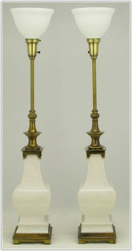 Stiffel Solid Brass Table Lamps