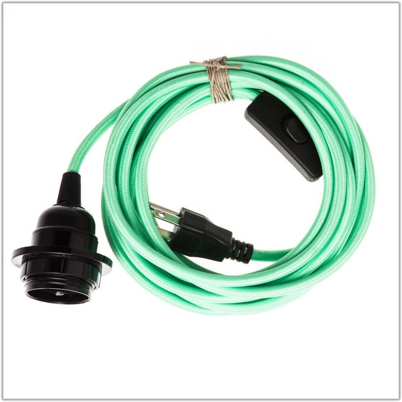 Swag Pendant Light Cord Set