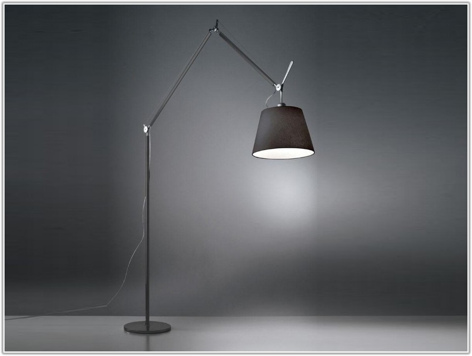 Swing Arm Floor Lamp Adjustable Height