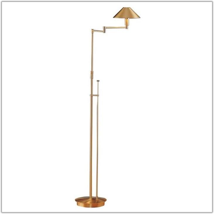 Swing Arm Floor Lamp Metal Shade