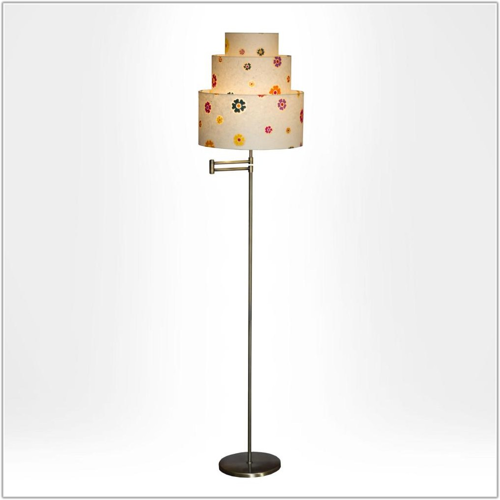 Swing Arm Floor Lamp Shade
