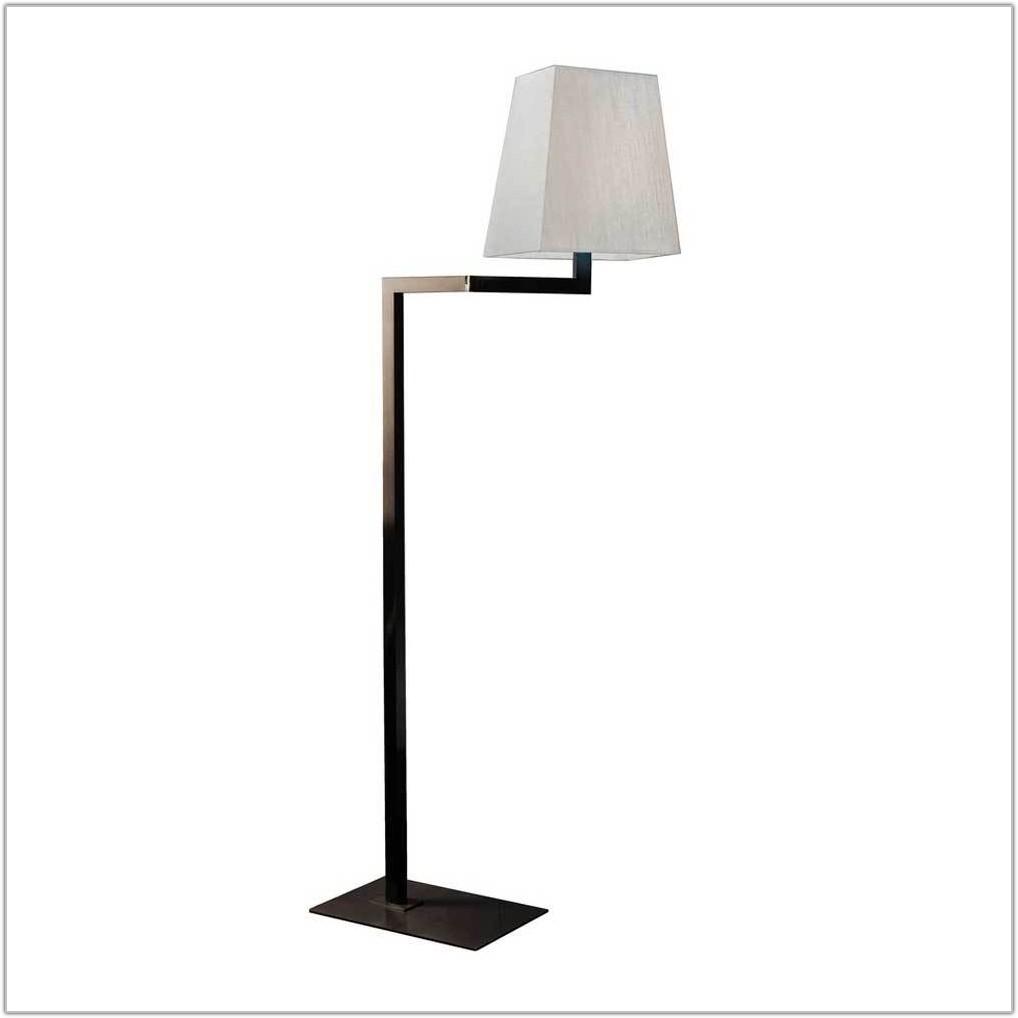 Swing Arm Floor Lamps Bronze