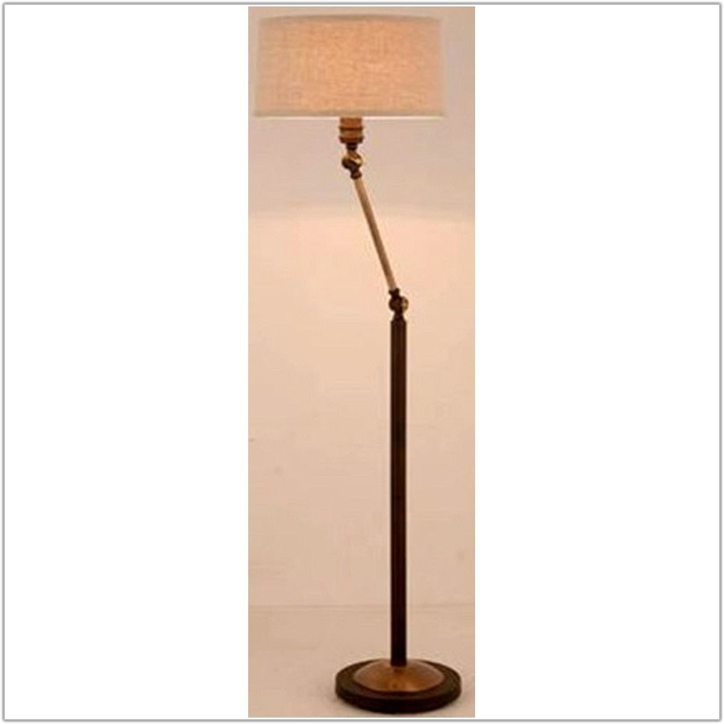 Swing Arm Lamp With Drum Shade