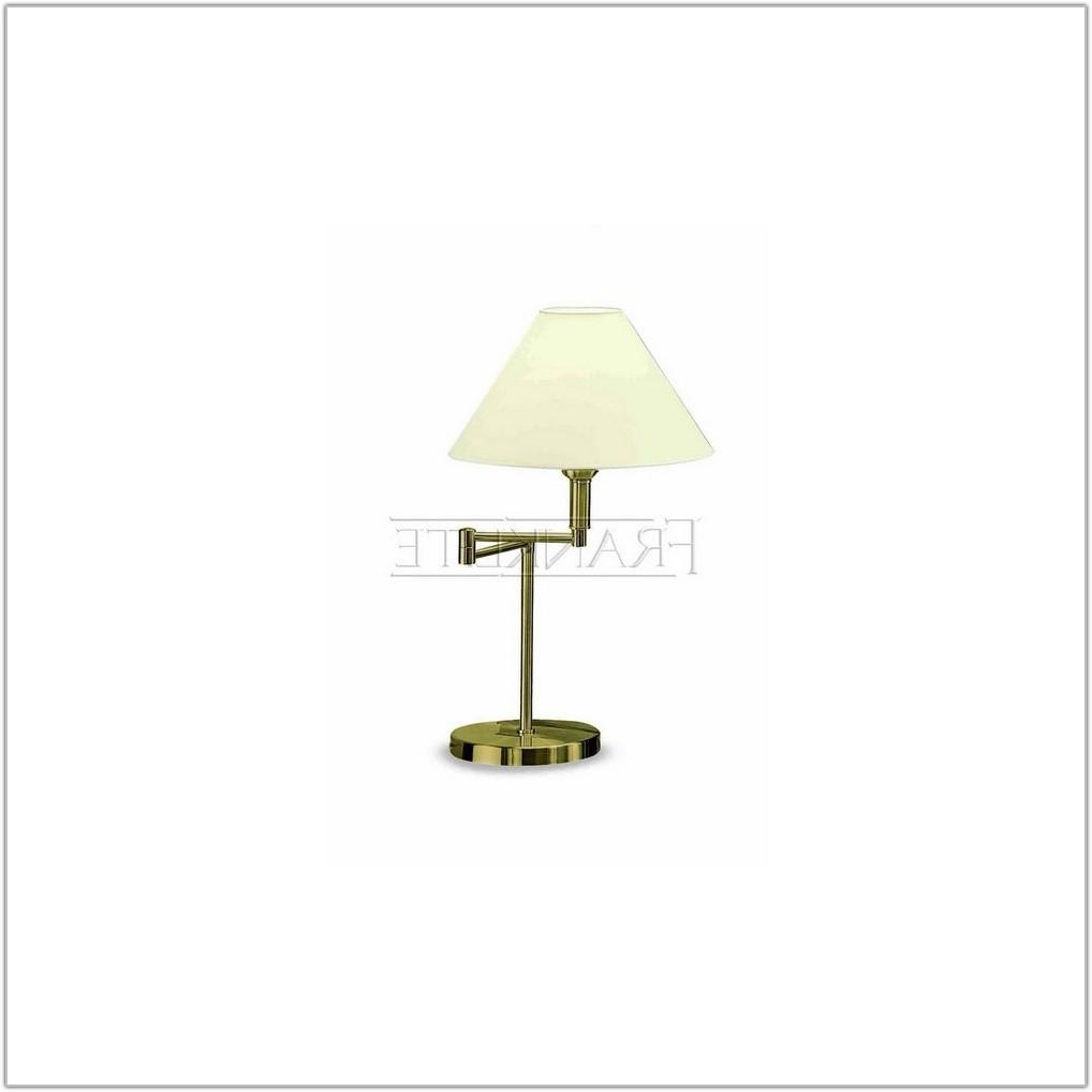 Swing Arm Table Lamp Bronze