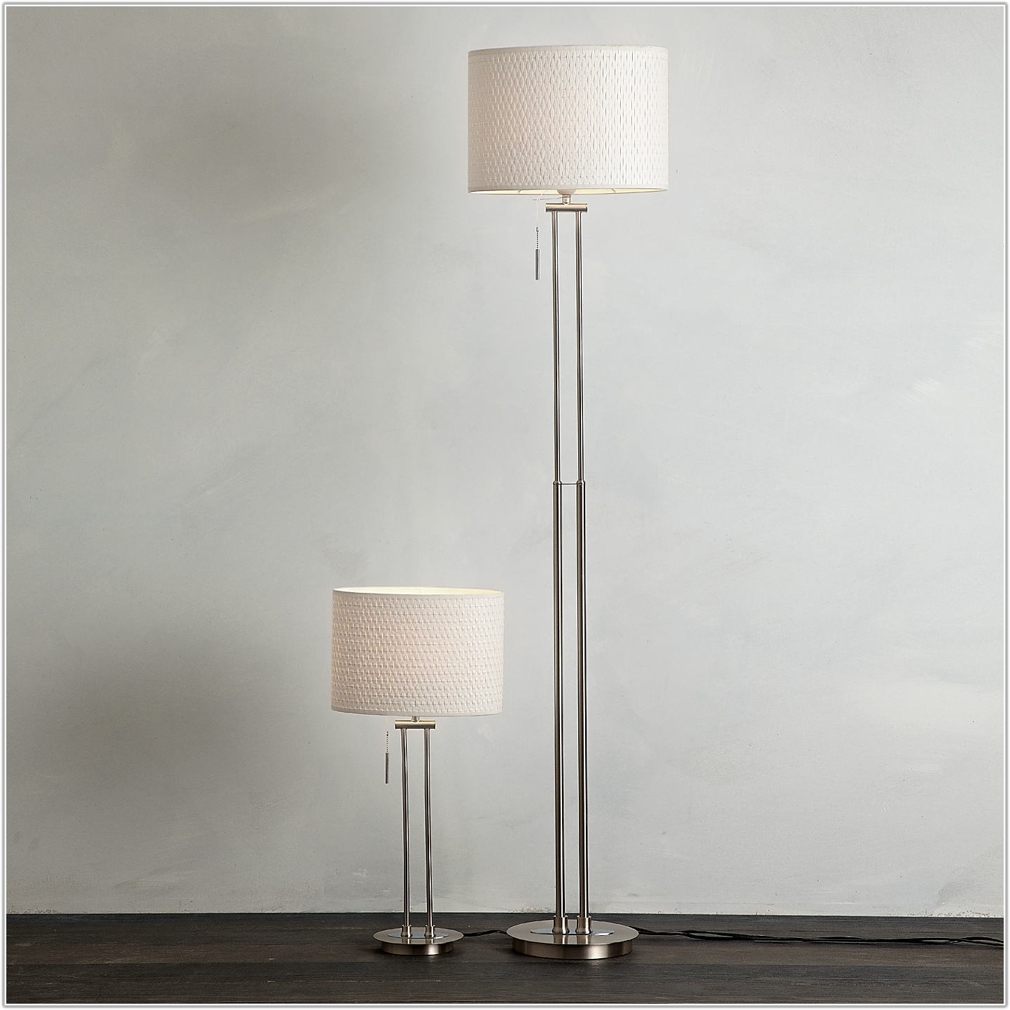 Table And Floor Lamps Matching