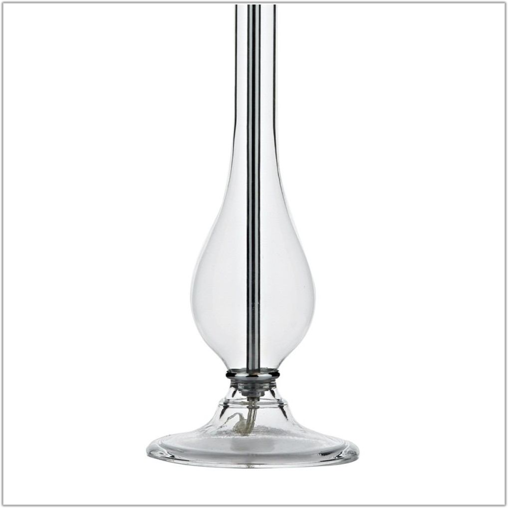Table Lamp Clear Glass Shade