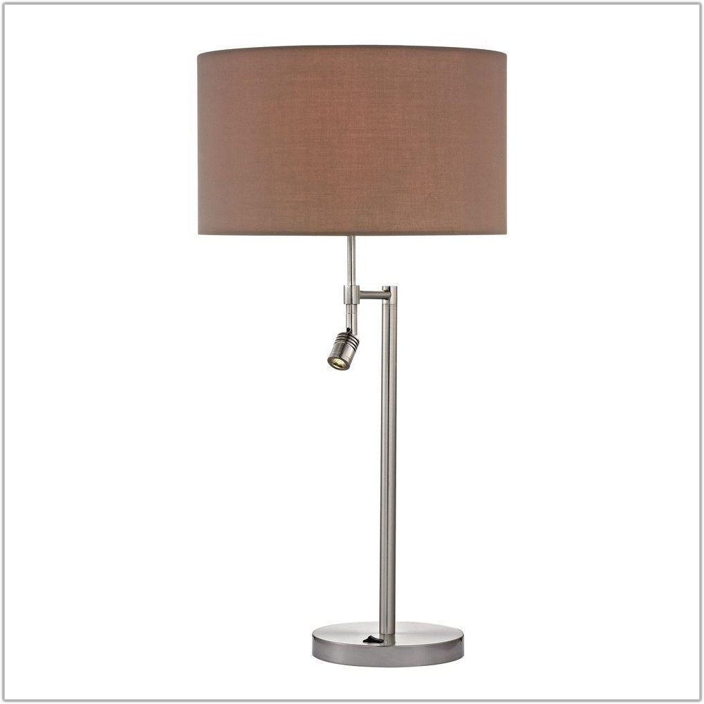 Table Lamp With Led Reading Light