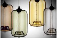 Target Glass Lamp Base Green
