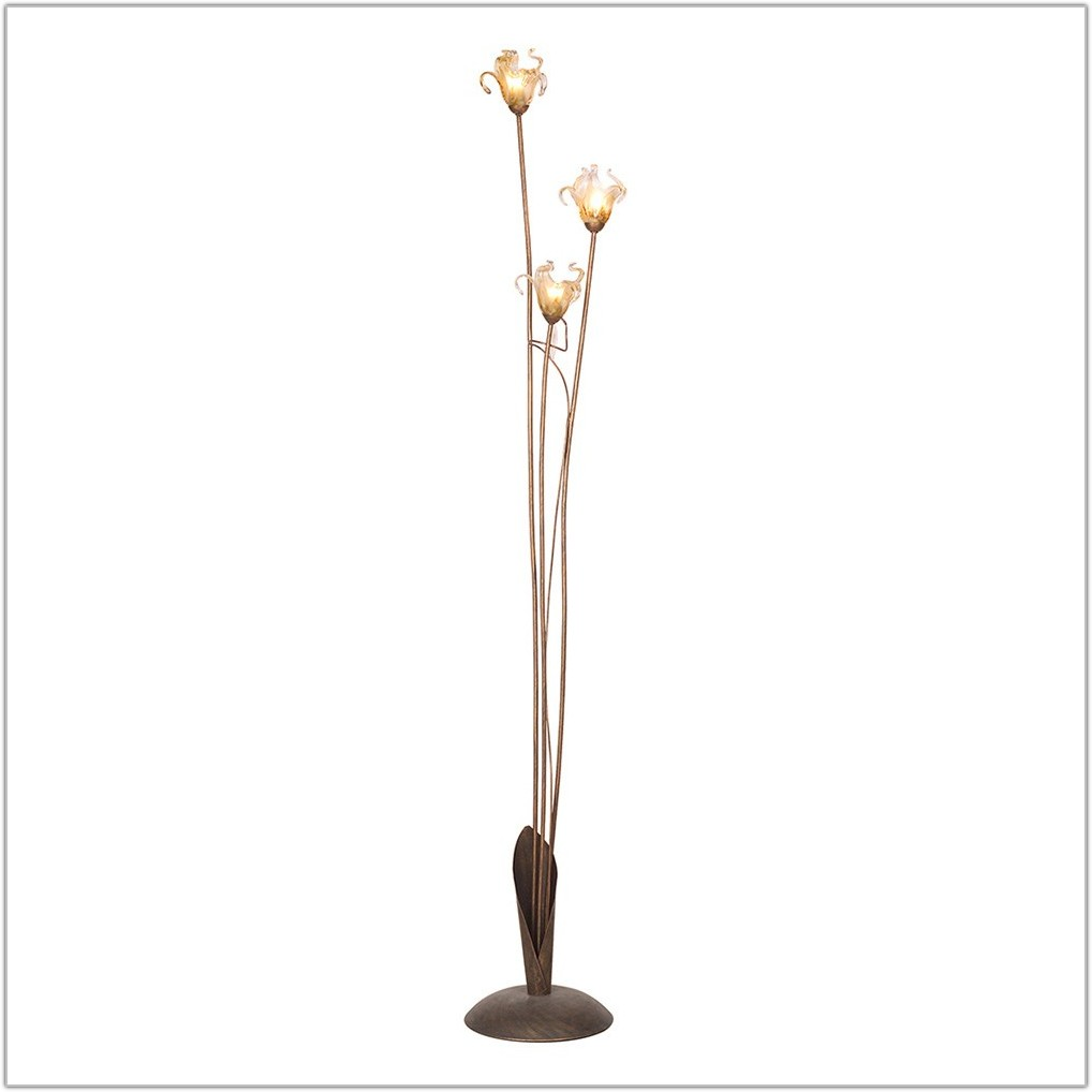 Three Light Tree Floor Lamp