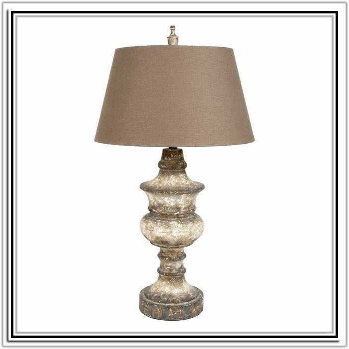 Threshold Turned Wood Table Lamp